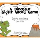 This sight word game would go along nicely with a dinosaur unit or just be a fun way for your students to practice reading sight words.There ar...