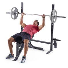 75f140835f3 Weider Pro 395 B Olympic Bench Press