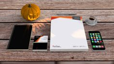 FarinaADV brand image mockup for Halloween!