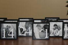 Tischnummern Hochzeit Tischkarten personalisierte von cjsworks