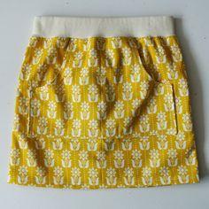 Ik maakte een derde Rokje in de serie Easy Skirts en deze is alweer voor mijn nichtje van 2...
