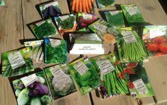 Moestuin-zaden