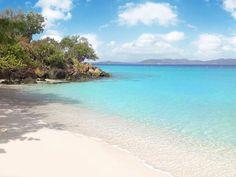 Scott Beach at Caneel Bay Resort on St John US Virgin Islands