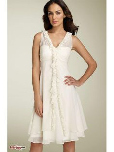 Short Affordable Reception Wedding Dresses
