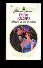 USED (GD) A Heart As Big As Texas (Harlequin Presents, No 1281) by Emma Goldrick