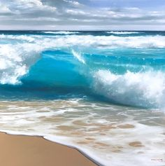 Ocean waves calm me Ocean Scenes, Beach Scenes, Ocean Pictures, Nature Pictures, Surfing Pictures, Beautiful Ocean, Beautiful Beaches, Ocean Photography, Landscape Photography