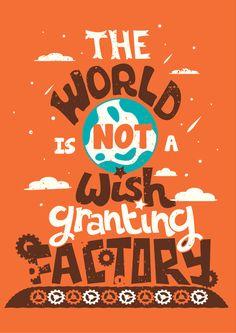 The World by John Green.