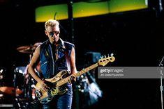 News Photo : English musician and bass guitarist with U2, Adam...