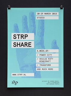 STRP Biennial 2015 by Raw Color, The Netherlands