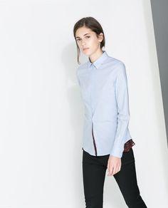 Image 2 of BASIC SHIRT from Zara