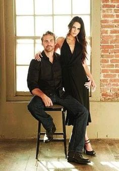 Brian O'Conner & Mia Toretto Photo: Paul Walker and Jordana Brewster, Fast Five Photoshoot Paul Walker Family, Rip Paul Walker, Jordana Brewster Paul Walker, Fast And Furious Cast, Brian Oconner, Fast Five, Interview, Michelle Rodriguez, Famous Faces