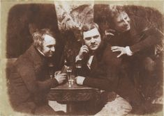 Perhaps the first photograph of men drinking beer, circa 1844 in Scotland, by Hill & Adamson.  #c1844 #historicpictoric #history #historic #historical #oldisgold #historical_photos #historicphotos #Dynamophone #blackandwhite #blackandwhitephotos #blackandwhitephotography