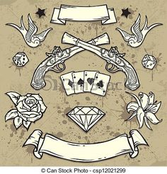 Resultado de imagen de old school tattoos