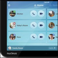 Nucleus Home Intercom Gets Alexa Advantage The smart home of the future could be a wee bit smarter with the addition of the Alexa-powered connected intercom system Nucleus announced last week. The Nucleus intercom which last fall made its debut without Alexa is a tablet that connects to a home network through WiFi or Ethernet to allow family members to communicate with each other both inside and outside the home. The inclusion of Amazon's Alexa technology in the $250 Nucleus lets it…