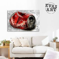 EVASART (@evas_art_it) • Foto e video di Instagram Art It, Video, Contemporary Art, Couch, Furniture, Instagram, Home Decor, Settee, Decoration Home