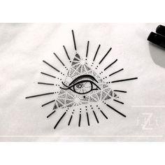 eye of providence. #illiz #tattoo #artwork #illustration #art #design #drawing #tattooflash #eyeofprovidence #ojodelaprovidencia #eye #eyetattoo #allseeingeyetattoo #allseeingeye #dotwork #geometrictattoo #geometricworks #addflash_ #tattooworkers #tatuaje #tattooart #ladytattooers #flashworkers #newtattooworkers #blacktattooing #tattoomadrid #tattoohamburg #madrid #hamburg #flashaddicted