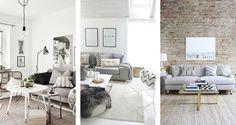 Desejo do dia: sofá cinza | Danielle Noce