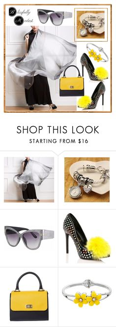 """""""BLISS FULLY MODEST #8"""" by nizaba-haskic ❤ liked on Polyvore featuring Privileged"""