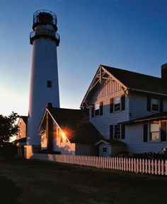Fenwick Island Lighthouse in Delaware