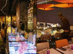 At the epicentre of Paris' golden triangle, Philippe Starck and Claude Louzon have created Miss Kō, a spectacular restaurant with a spellbinding setting. Visual Merchandising, Pub Interior, Interior Design, Coffee With Alcohol, Branding, Philippe Starck, Design Furniture, Experiential, Retail Design