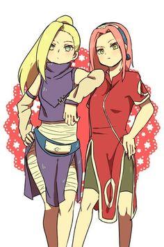 Sakura và Ino