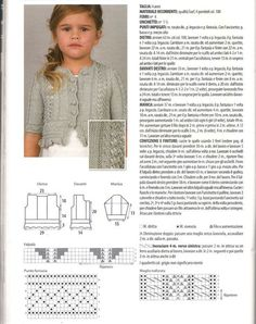 Knitting For Kids, Baby Knitting Patterns, Crochet For Kids, Knit Crochet, Knit Vest Pattern, Baby Cardigan, Drops Design, Baby Sweaters, Crochet Clothes