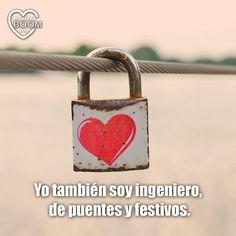 """""""Yo también soy ingeniero...de puentes y festivos"""".  ¡#Felizviernes y feliz puente a tod@s!"""