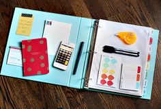 Finance Binder 101 - Great tips to organize budgets, tax docs, and more.