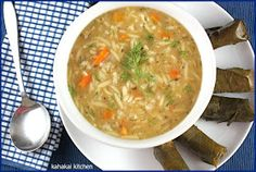 Kahakai Kitchen: Greek Creamy Lemon Rice Soup: A Vegan Take on a Classic for Souper (Soup, Salad & Sammie) Sundays