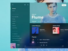 small spotify fluent design experiment made in AdobeXD <- every time I write this, I just saw a smiley laughing about adobe Web Dashboard, Ui Web, Dashboard Design, App Ui Design, User Interface Design, Design Web, Brand Design, Fluent Design, App Design Inspiration