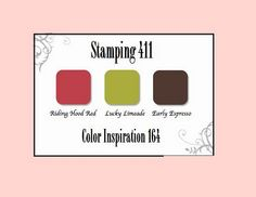 Stamping 411 Color Inspiration 164