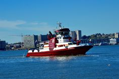 #FDNY #Firefighter II Marine Unit on the Hudson River, #newyorkcity