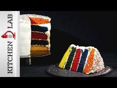 Τούρτα ουράνιο τόξο | Άκης Πετρετζίκης Sweet Treats, Cheesecake, Desserts, Recipes, Cakes, Food, Youtube, Tailgate Desserts, Sweets