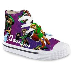 Personalized Limited Edition ZELDA Shoes CONVERSE