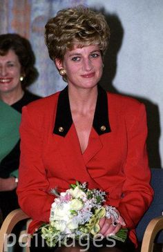 October 8 1992   Diana, President, the Royal Marsden Hospital, opened the new clinical block at the Royal Marsden Hospital, Fulham Road, London SW3