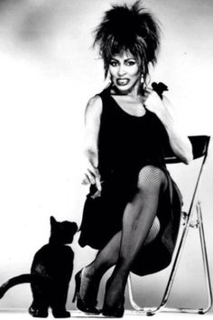 Tina Turner Private Dancer Cover Shooting 1984
