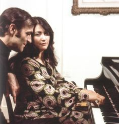 Martha Argerich and her ex-husband Charles Dutoit Martha divorced him because he cheated on her and had an affair with a woman. kyung wha chung
