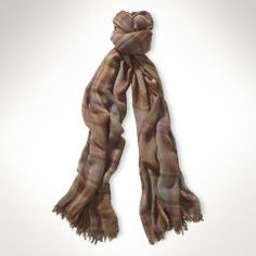 Plaid Scarf - Lauren Scarves - RalphLauren.com Mom Love the 1st one and the last one