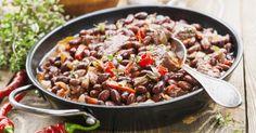 Recette de Poêlée minceur de haricots rouges au bœuf. Facile et rapide à réaliser, goûteuse et diététique. Ingrédients, préparation et recettes associées.
