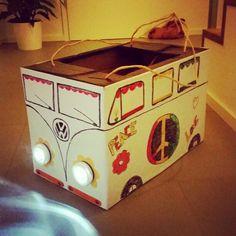 VW Bus T1 #70s #Flowerpower #Kostüm #70er #DIY #Hippie #Karneval #Selfmade