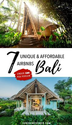 Includes $35 gift voucher! Make your holiday in Bali even more special by staying in one of these incredible houses! All under $80 per person a night!