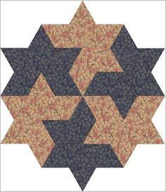 Winner Lucky Star quilt block pattern | Craftsy
