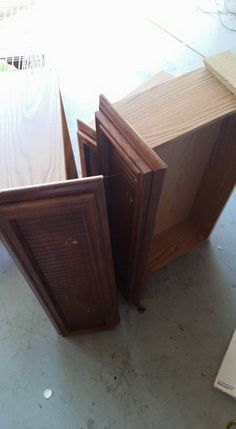 take hardware off of drawers in order to sand and paint