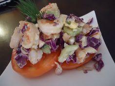 Paleo Seafood Salad. This was SOOOOO good!!!!!!