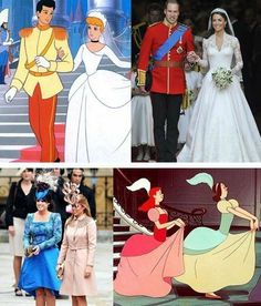 Kate Middleton and William as Cinderella (Disney)https://pinterest.com/search/?q=William+and+Kate+Middleton#