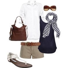 Classy casual summer style :)