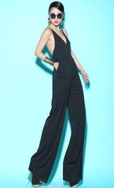 Morpheus Boutique  - Black Strap Backless Strap Halter Sexy Jumpsuit, CA$92.29 (http://www.morpheusboutique.com/black-strap-backless-strap-halter-sexy-jumpsuit/)