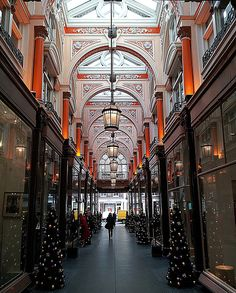 Inside the Royal Arcade, Old Bond Street, London