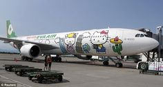 HELLO KITTY AIRLINES.  Seriously.  If ever there was a reason for me to want to fly first class, this'd be it.