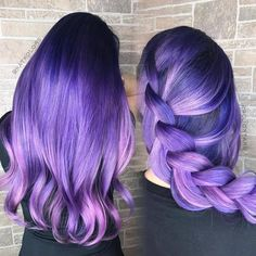 Left or Right? Purple Gorgeousness by @katkolors